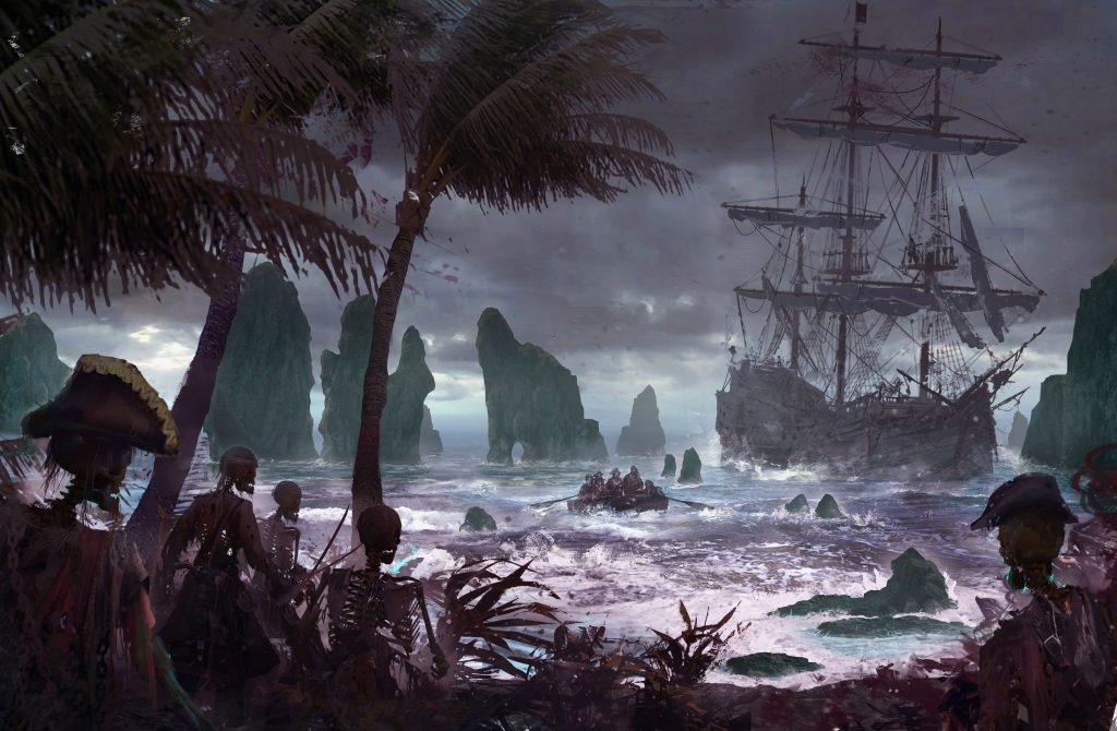 About Pirates Of The Dread Sea Dead Earth Games